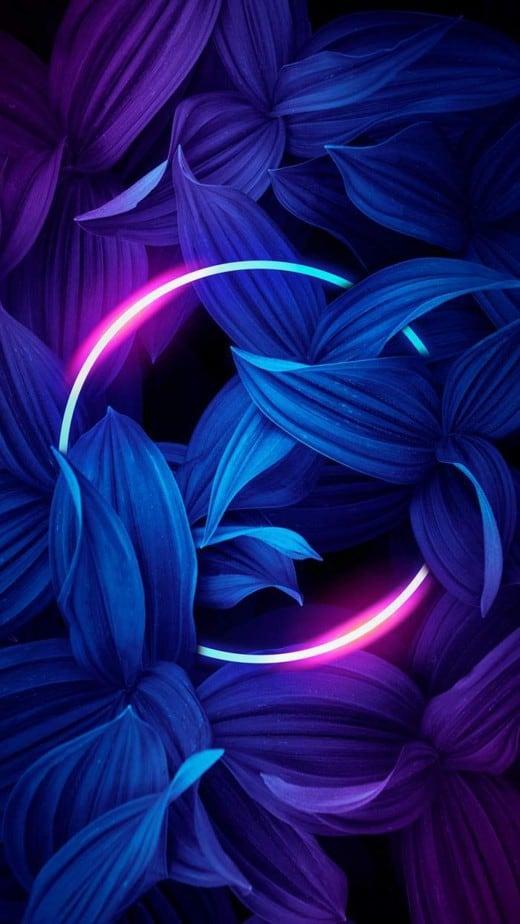 neon wallpaper phone