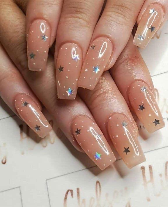star nail designs acrylic