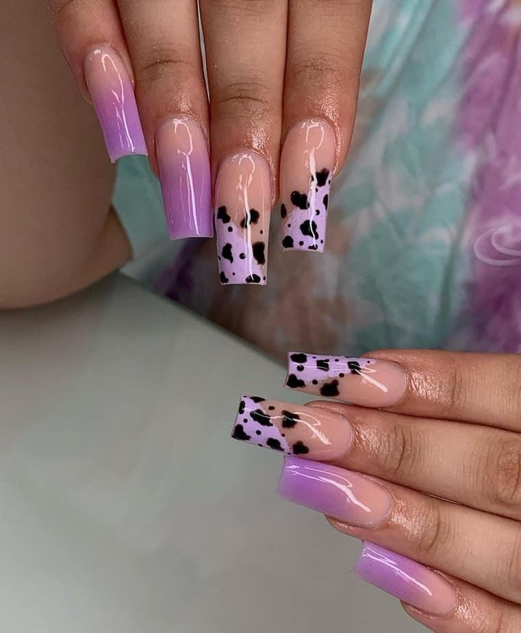 purple nails idea square