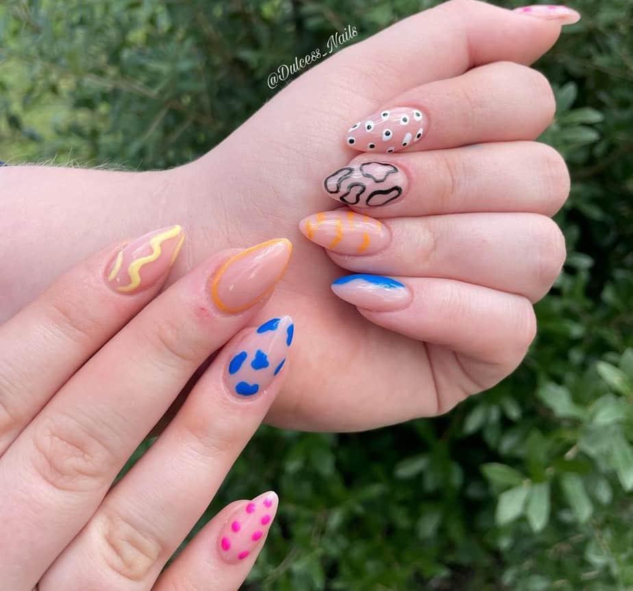 trendy short nail designs