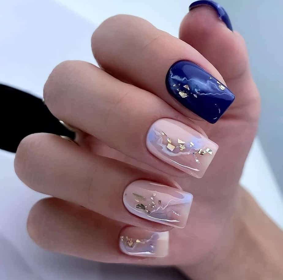 super short nail designs acrylic