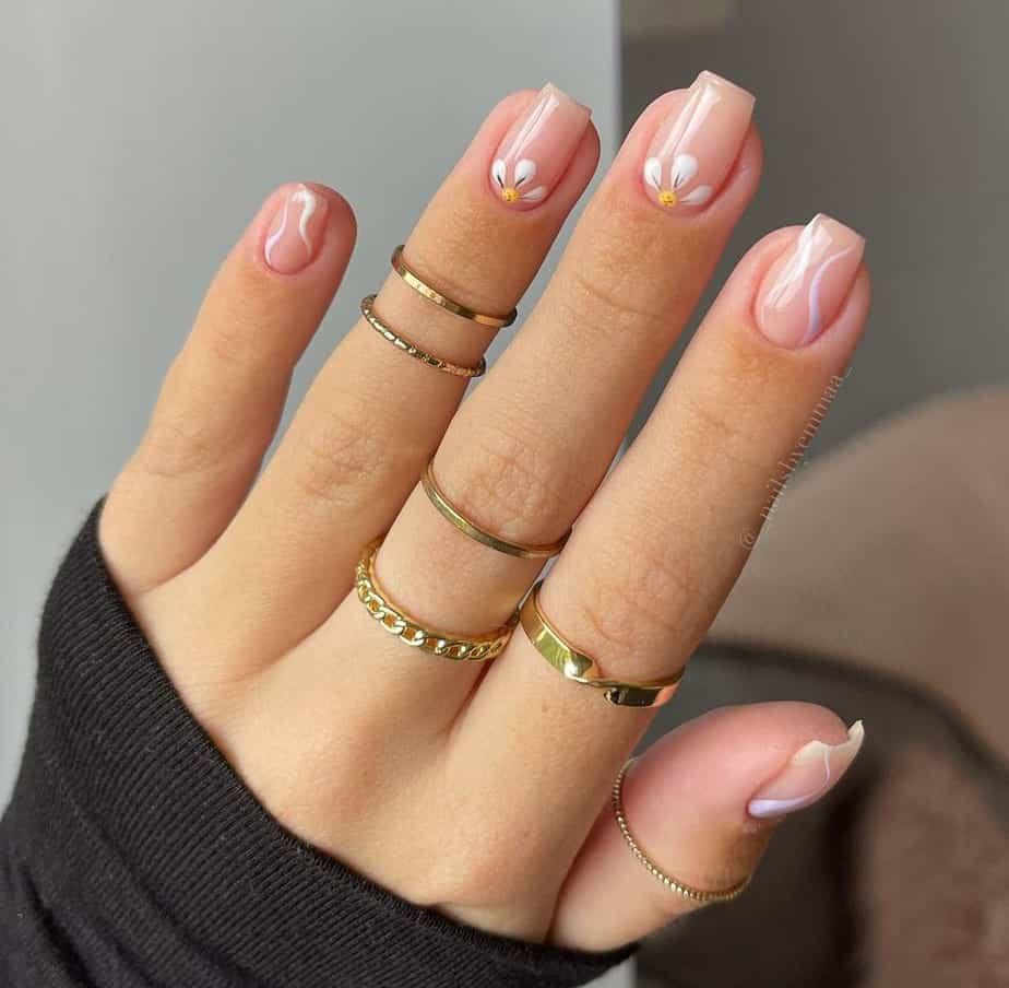 short nail designs minimal ideas