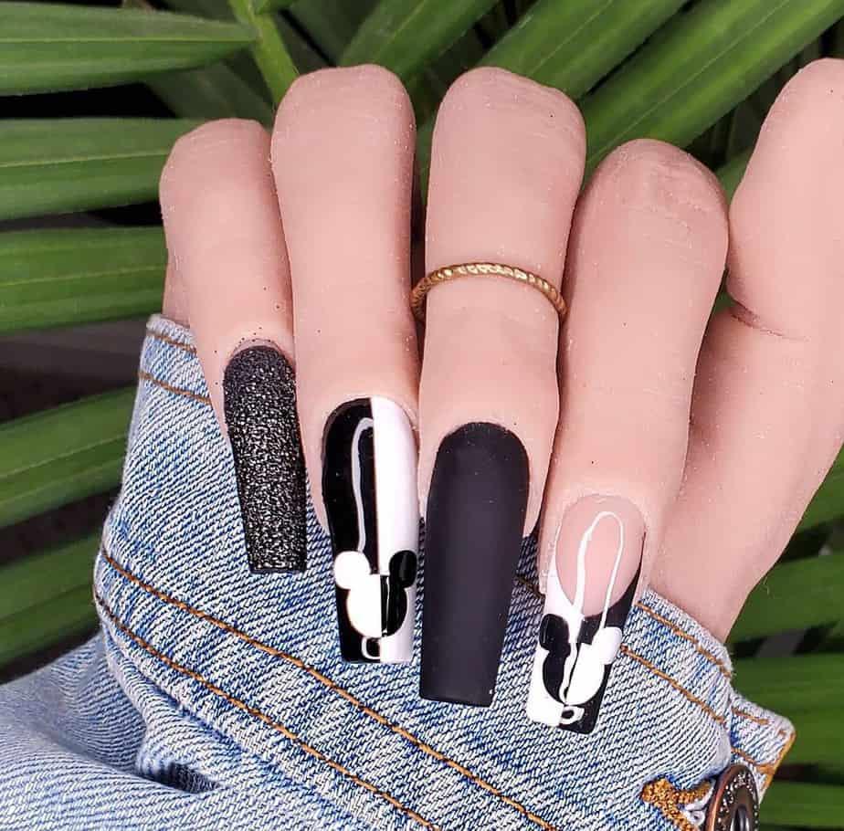 disney nail designs long