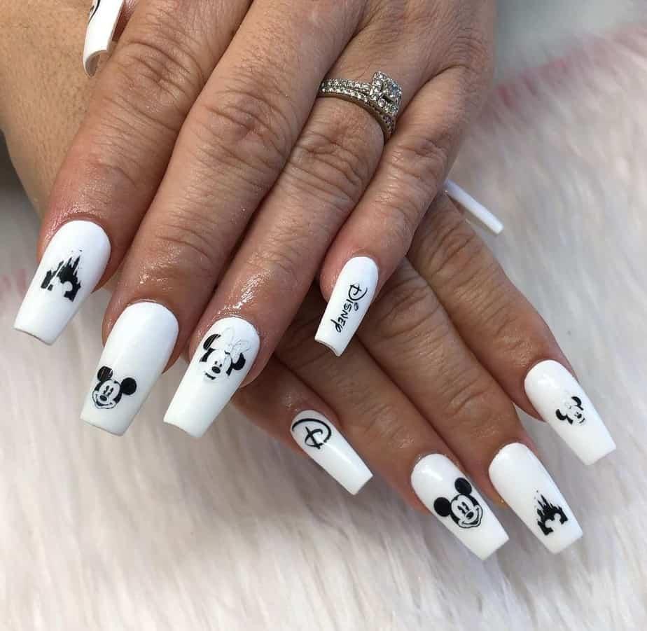 disney nail designs acrylic