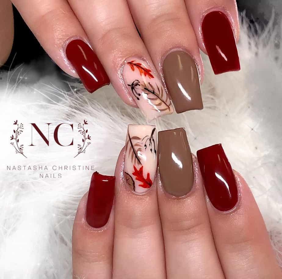 thanksgiving nail designs